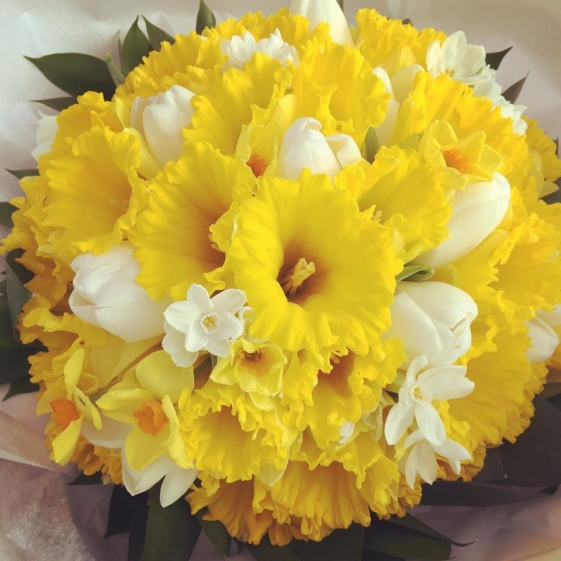 Today April Flowers: April Showers Bring May Flowers … » Jo Hicks Flowers